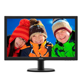 Monitor Para Pc De 24 Pulgadas Full Hd Philips 243v5lhsb/55