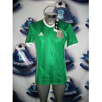 Jersey Oficial Adidas Selección Mexicana Verde 2016 Mexico