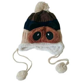 Gorro Infantil Ursinho Touca Infantil Inverno Frio Importado