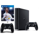Playstation 4 Ps4 Slim 1tb + Fifa 18 + Control - Sniper Game