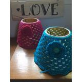 Pantallas Para Velador Tejidas Al Crochet