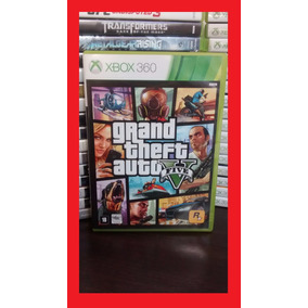 Gta 5 V - Grand Theft Auto 5 V Xbox 360 Portugues - Frete 10