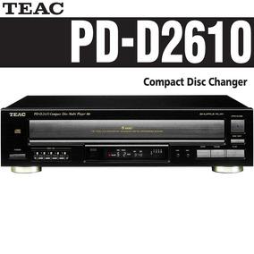 Teac Pd-d2610 Cd Player Com Carrossel Para 5 Cds Rev Oficial