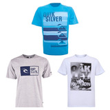 Kit 10 Camiseta Camisa Masculina Marca Estampada Top Atacado