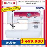 Máquina Familiar Brother Xl 5600 De Codo Bobina Metálica