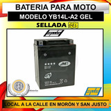 Bateria De Gel Yb14l-a2 Moto Kawasaki Klr 650 Y Mas