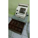 Caixa Registradora Antiga Ncr Funcionando Para Restauro