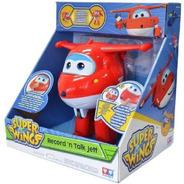 Boneco Interativo Jett Super Wings Grava E Fala 8241-6 Fun