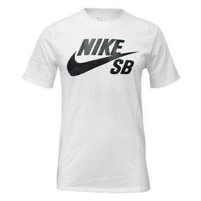 Remera Nike Sb Logo /negro Hombre