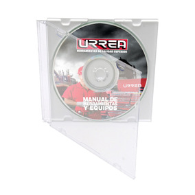 Manual De Herramientas Urrea 2010 (cd) Codigo Surtek Mhu10e