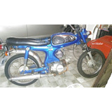 Moto Honda Ss 90, Relíquia, Raridade, Antiga, Mosca Branca