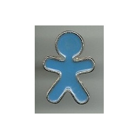 Pin Marcas Logotipo Telefonia Vivo Azul