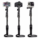 Palo / Baston Tripode Para Selfies Bluetooth - Monopod