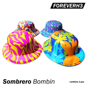 12 Sombreros Fiesta Bombin Animacion Batucada Mayoreo Boda