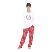 Pijama De Mujer Invierno Talle Grande Art 580