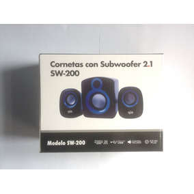 Cornetas Gio Subwoofer 2.1 Sw-200