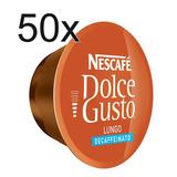 50 X Nescafe Dolce Gusto Lungo Decaffeinated Capsules