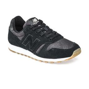 zapatillas new balance negras piel