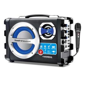 Caixa Acústica Mondial Multi Connect Mco04 Bluetooth Usb