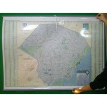 Mapa Mural Capital Federal Caba 95*1.30