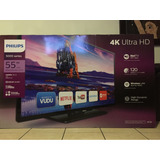 Philips Smart Tv 4k Ultra Hd 55 Pulgadas // Pagos A Msi