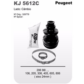 Kit Coifa Homocinética Peugeot 206 106 205 306 405 605 806 C