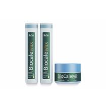 Kit Biocale Mix Manutenção Cauterização De Argan 3 Produtos
