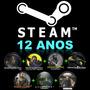 Cs 1.6 + Czero + Source + Moeda De 5anos Csgo + Steam 12anos