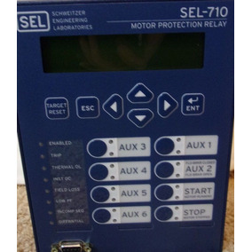 Sel-710 Proteccion Motor Fluke Megger Industrial Nuevo Rele