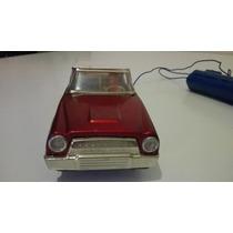 Antiguo Auto De Lata A Pilas Funcionando Como Nuevo