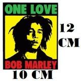 Adesivo Logo Bob Marley One Love Reggae C/ Frete Gratis