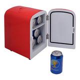 Mini Nevera Portátil Refrigerador Y Calentador Auto Coche...