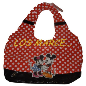 Bolso Minnie Y Mickey Mouse Disney Urbano Oferta !!!!