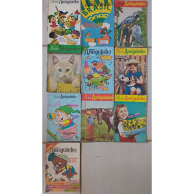 Lote 10 Revistas Nosso Amiguinho Frete Grátis