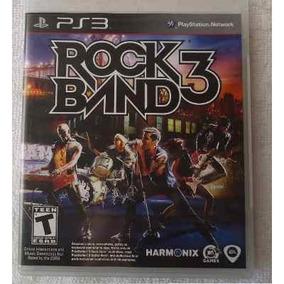 Jogo Game Ps3 Rock Band 3 Original Novo Lacrado Ref12