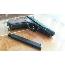 Pistola Makarov Semiautomatica Full Metal Cal. 4.5mm Co2