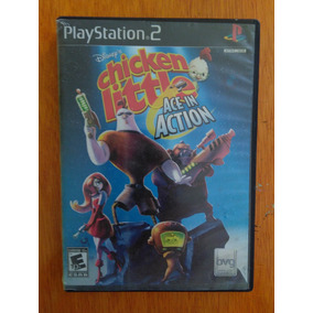 Disney´s Chicken Little Ace In Action Ps2 Playstation 2 Slim