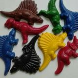 Souvenir Crayones Dinosaurios Didáctico Cumple Temático Dino