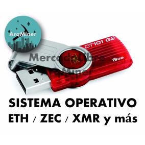 Usb + Sistema Operativo Eth Rig Rx 470 480 570 580 / R9 Gtx