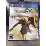 Juego Final Fantasy Type-0 Hd Ps4 Nuevo Físico