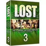 Dvd Box Lost 3ª Temporada 7 Dvds - Original Lacrado C/ Nota
