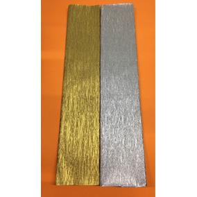 Paquete 50 Carpeta Crepe Metalico