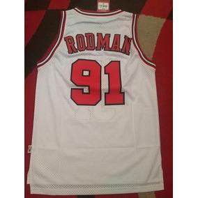 fb2bfe7d7f5 Camiseta Nba Chicago Bulls Dennis Rodman Talla S