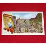 Antigua Tarjeta De Navidad Machu Picchu Cuzco Cusco Perú