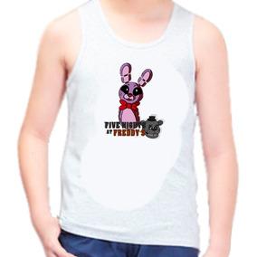 Camiseta Regata Infantil Fnaf Five Nights At Freddy 42