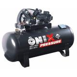Compressor Ar 10 Pés 175 Litros Mono 110v 220v Pressure Onix