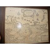 Mapa Antiguo De Venezuela Guilyelmus Blaeuw 1642
