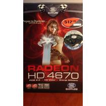 Placa De Video Ati Radeon Hd 4670 512mb Gddr3