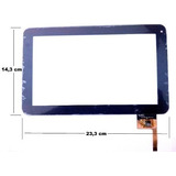Tela Vidro Touch Tablet Cce Motion Tab Tr91rs Tr91 Rs