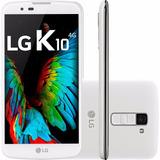 Celular Lg K10 Dual Chip Android 6.0 16gb 4g Branco + Brinde